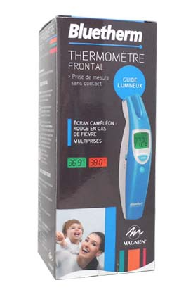 thermometre bebe frontal