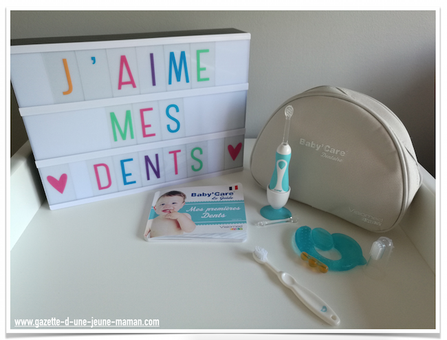 soigner dents bebe visiomed