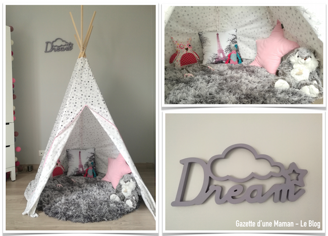 gazette d 39 une maman le blog deco chambre bebe tipi. Black Bedroom Furniture Sets. Home Design Ideas